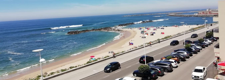 VILA DO CONDE - Apartamento com praia em frente