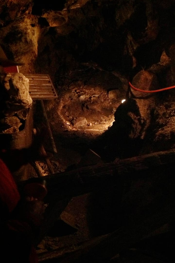 Inside the mine!