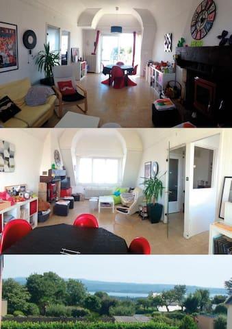 AppartT5/ jardin aux portes des fêtes Brest 2016 - Plougastel-Daoulas - Apartemen