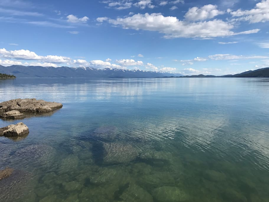Best view! Flathead Lake