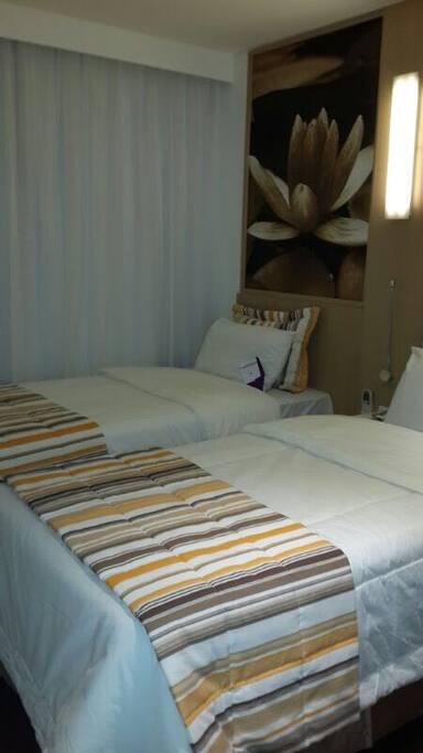 Quarto (2 camas de solteiro)