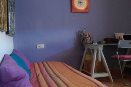 Beautiful and peaceful room next to Valencia - L'Eliana - Apartment