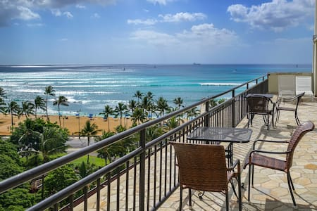 Cooler, Quieter, Side Waikiki Grand - Honolulu - Appartement