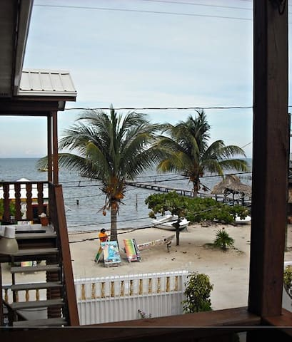 Beach front property- 'Standard room with fan'-BW
