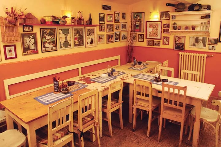 """Another great and popular choice of Czech beers in """"Kulovy Blesk"""" - 4 minutes walk from our apartment"""