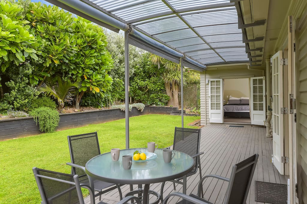 Back Garden + Deck
