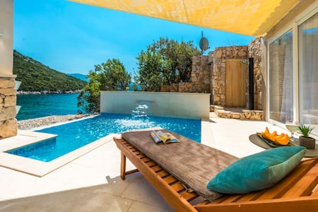 Holiday House with Private Beach Dubrovnik Region