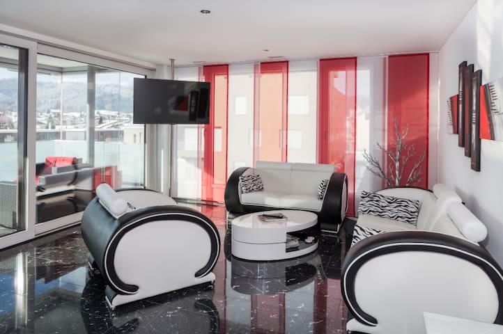 hell, modern, 4.5 Zimmerwohnung, Unterägeri - Unterägeri - Appartamento