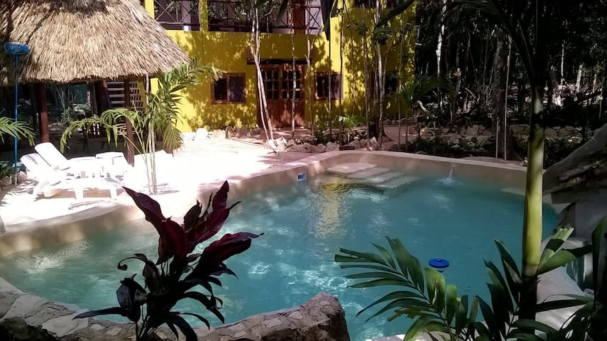 Jungle Casa Corazon - apartment close to Tulum - Macario Gómez - 公寓