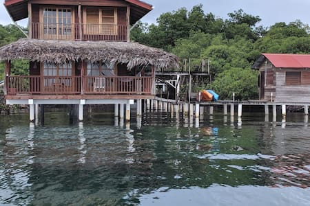 Caribbean Blue Casita on the water