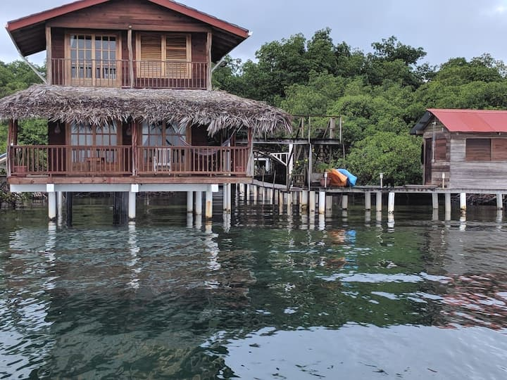 Caribbean Blue Casita on the water
