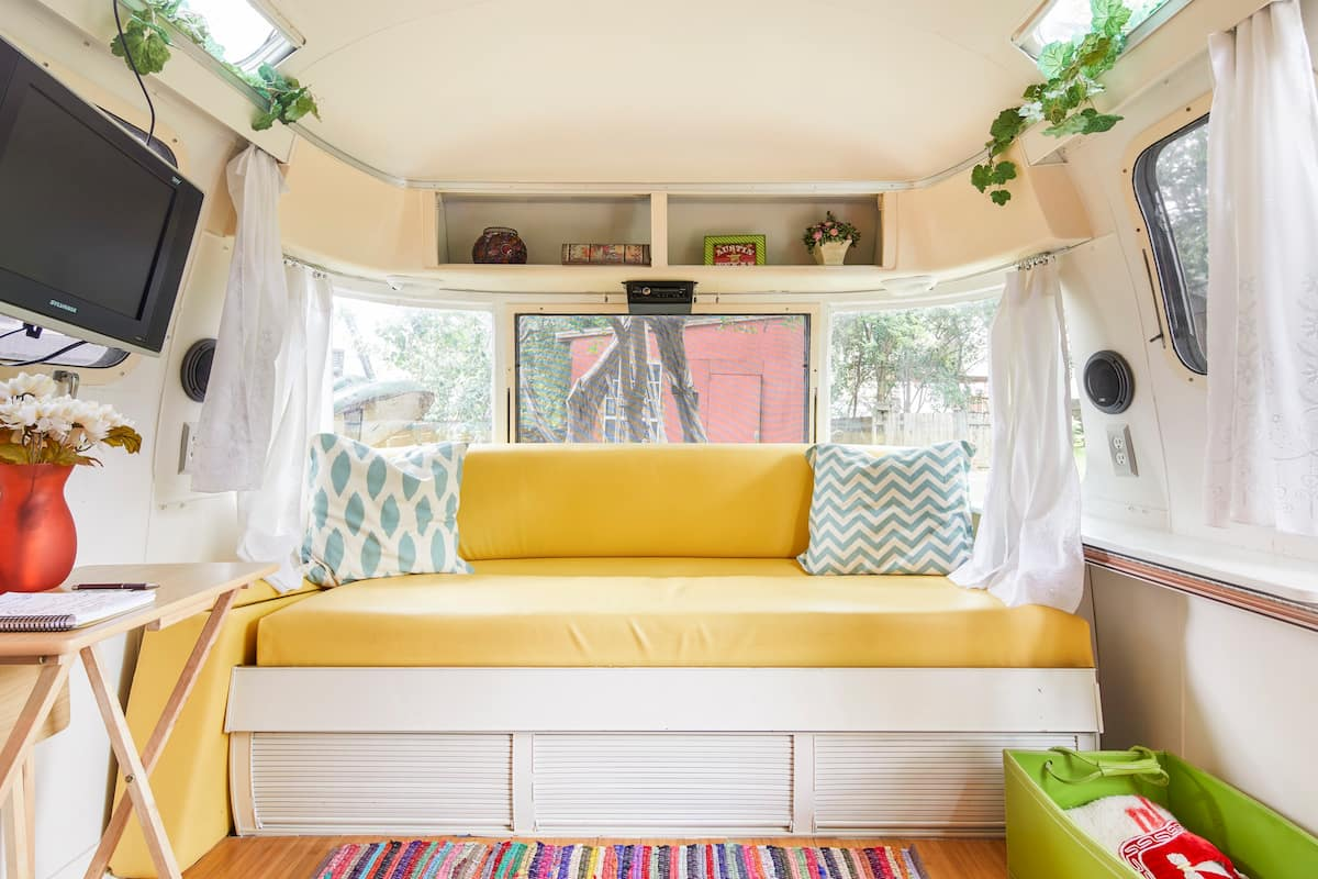 Cozy Up in a Vintage Airstream in Barton Springs- Long Term