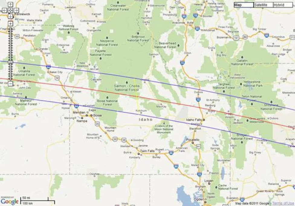 We are located next to the red line. Rigby Idaho