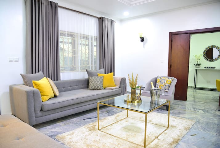 Modern, quiet gem in the heart of Abuja.