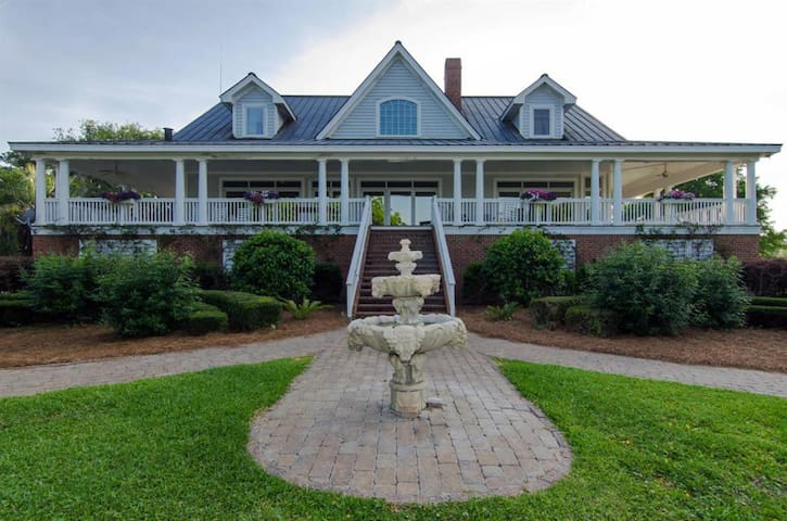 Private Plantation Home, Deep Water, Pool, Awesome - Edisto Island - Huis