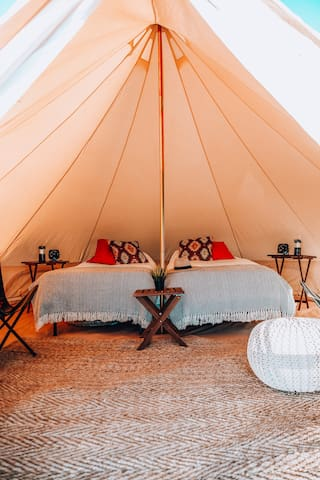 Inside of Twin Tent