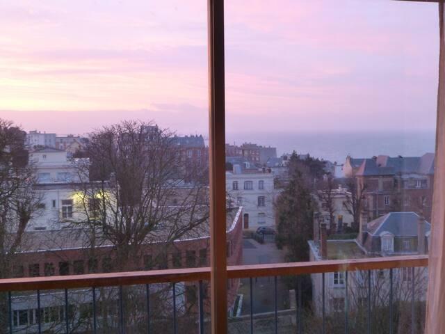 studio vue sur mer et estuaire - Sainte-Adresse - Appartement