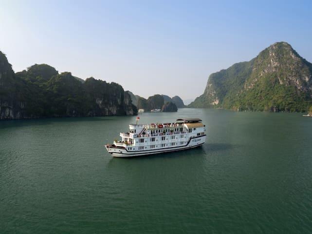 Amazing 3 days/2 nights Halong on Paloma Cruise 4* - Thành phố Hạ Long - Boat