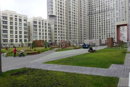 Beautiful flat with underground parking - Odintsovo - Apartament