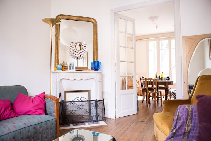 Charming House & Garden / 10' from Central Paris ! - Saint-Denis - Casa