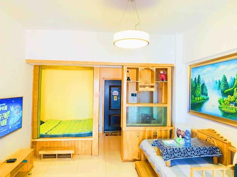 [Our de Family] Monthly Rental One Bedroom One Hall Fresh Style Apartment near Suning Wanda, North Aldin Street, Kunming