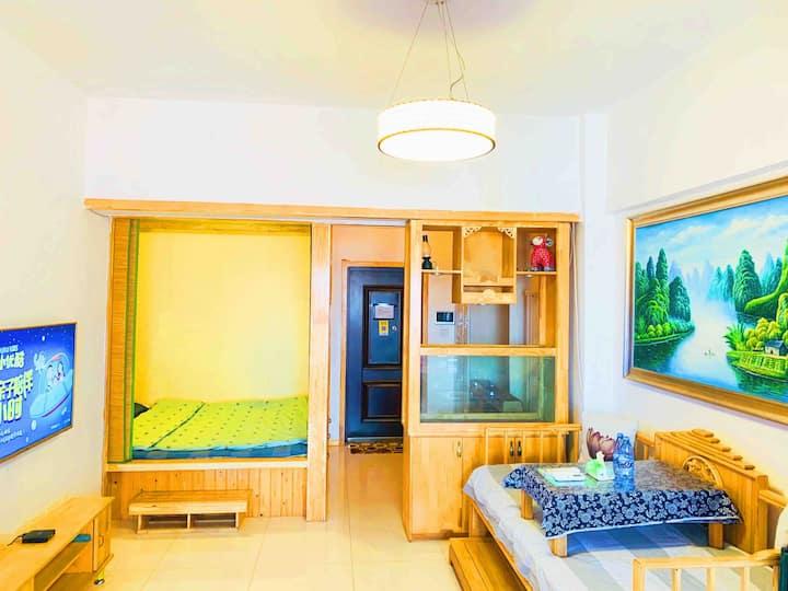 [我們de家]昆北阿尔丁北大街苏宁万达附近的一室一厅清新风格公寓