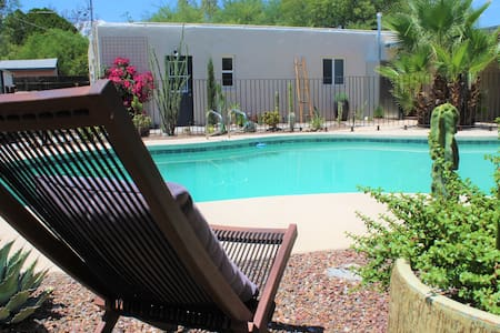 Midtown Relaxing Casita With Pool.