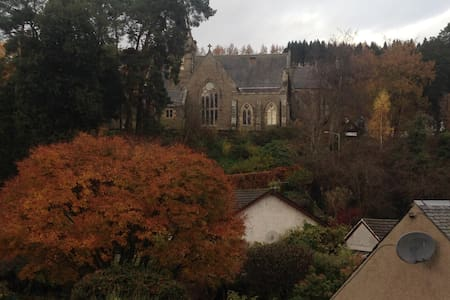 Rural apartment close to Murthly Castle sleeps 4 - Caputh