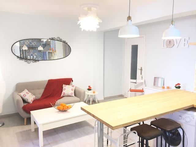 Coqueto apartamento en la playa de Valencia