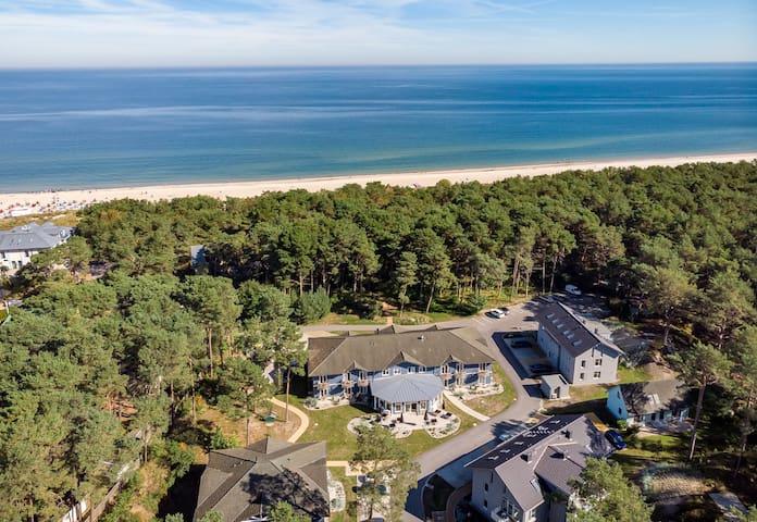 Traumhafte Lage-Traumhafte Wohnung-70m zum Strand