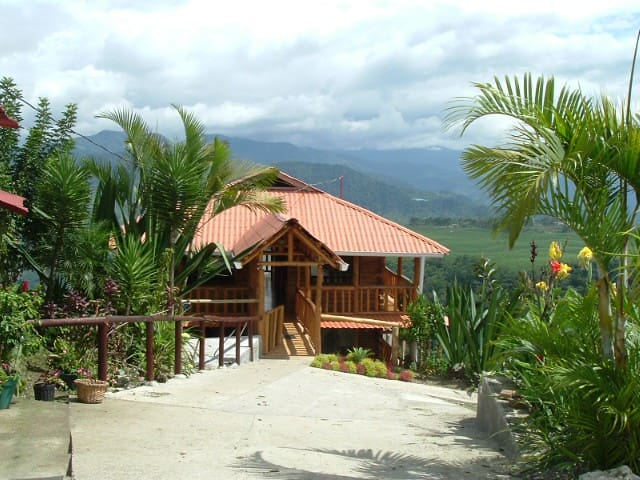 Farm, Panoramic views, Relax, Parking - Cartago - Cabin