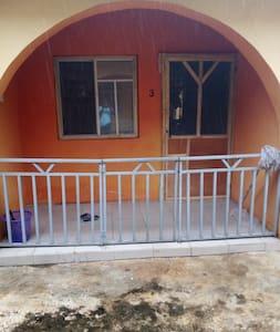 Single mattress, water supply, bathroom & Kitchen