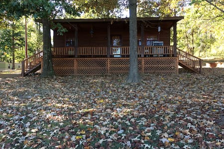 Round Pond Lodging - Eagle's Nest - Brookport - Cabin