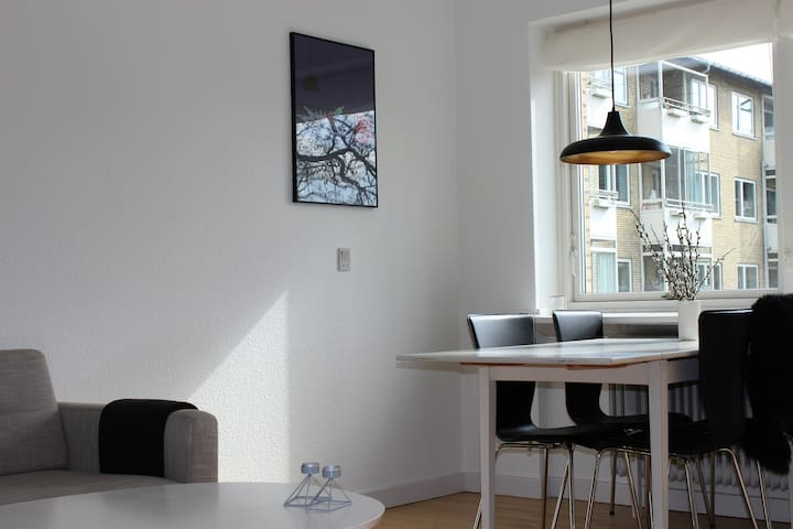 Spacy and beautiful 3 bedroom apartment. - Kööpenhamina - Huoneisto
