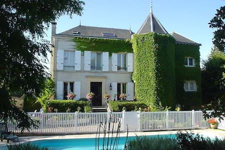 Chambre quadruple Les Magnolias - Saint-Chéron - Ház
