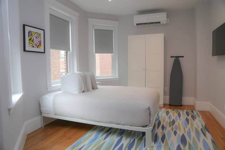 A Stylish Stay w/ a Queen Bed, Heated Floors; #12