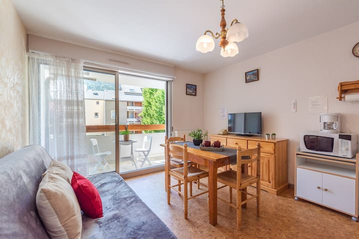 LOCATION APPARTEMENT SAINT LARY SOULAN /TYPE 2 /QUARTIER THERMAL- TELECABINE