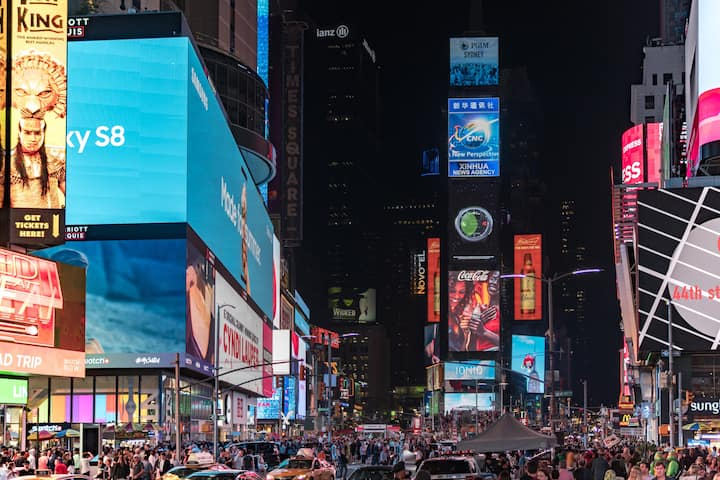 Enjoy the Times Square experience with the family!
