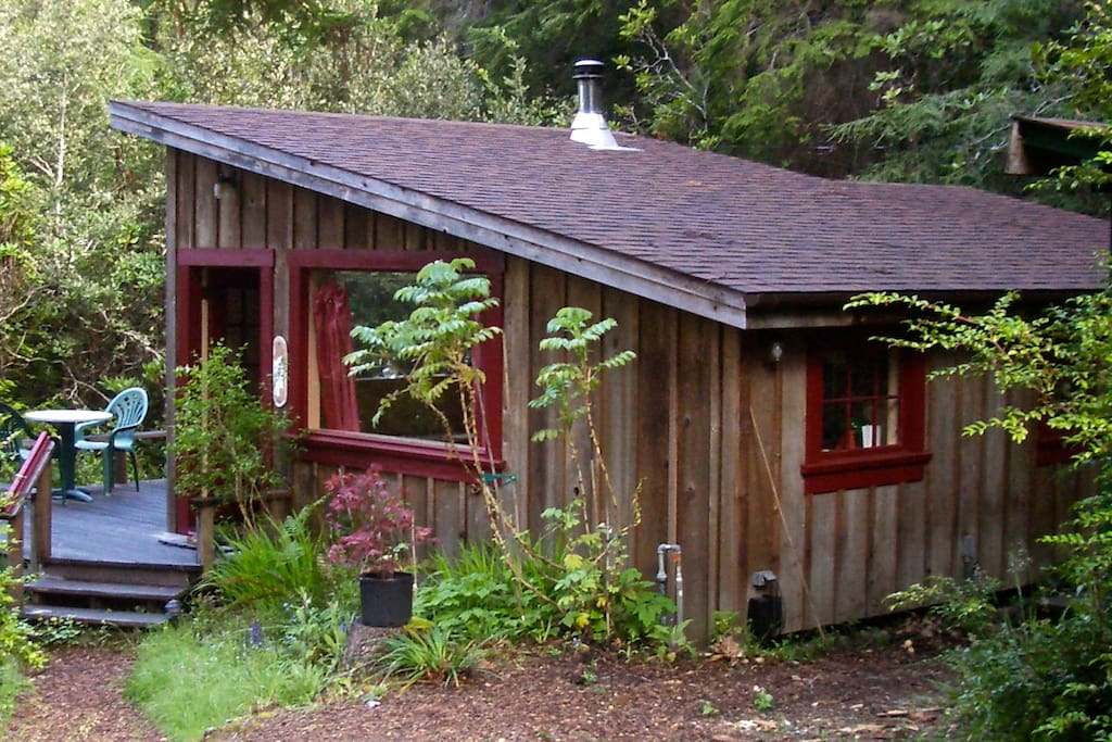 Big River Ridge Cottage Private Cozy In Redwoods