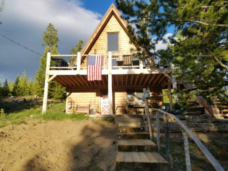 Cozy Modern A Frame Home Cabins For Rent In Grand Lake