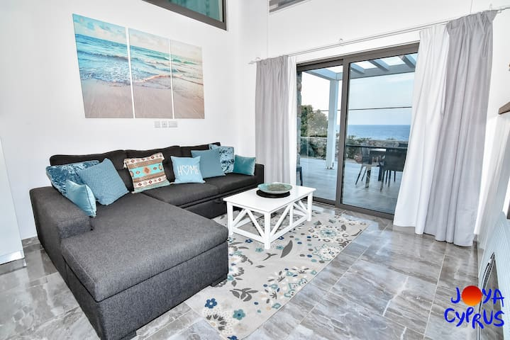 Joya Cyprus Sea View Garden Apartment