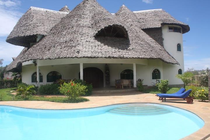 Villa am Indischen Ozean, Diani Beach, Kenia