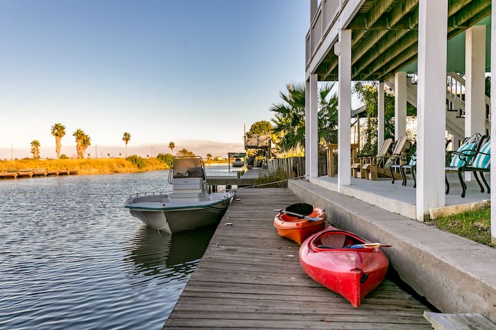 Great area for boating and kayaking in addition to fishing.