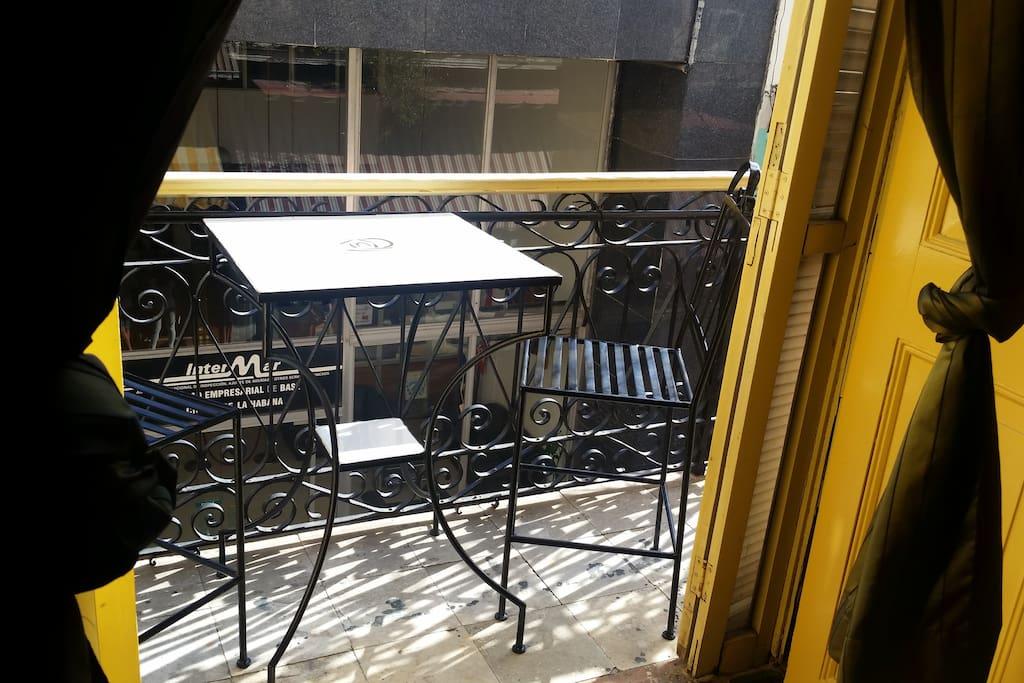 Balcon de la habitacion 1