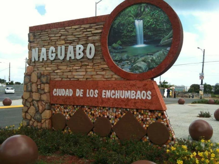 Welcome to Naguabo! This is in Exit 18 to Naguabo City.