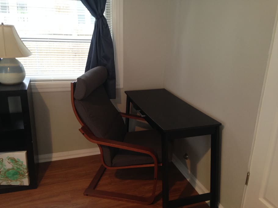 Work-space for our business travelers.