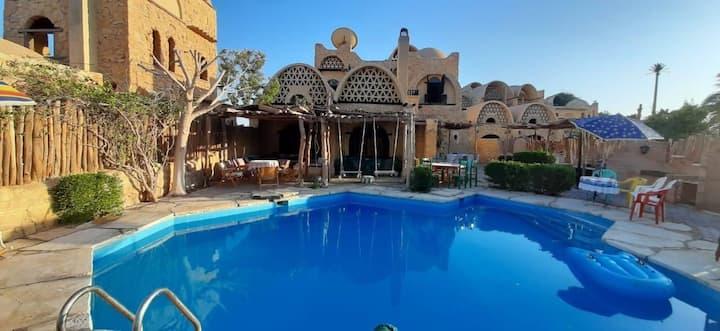 Villa Alrobo3 , tunis village , fayoum