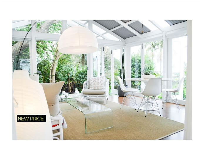Luxurious Tropical Bungalow - Milton - Banglo