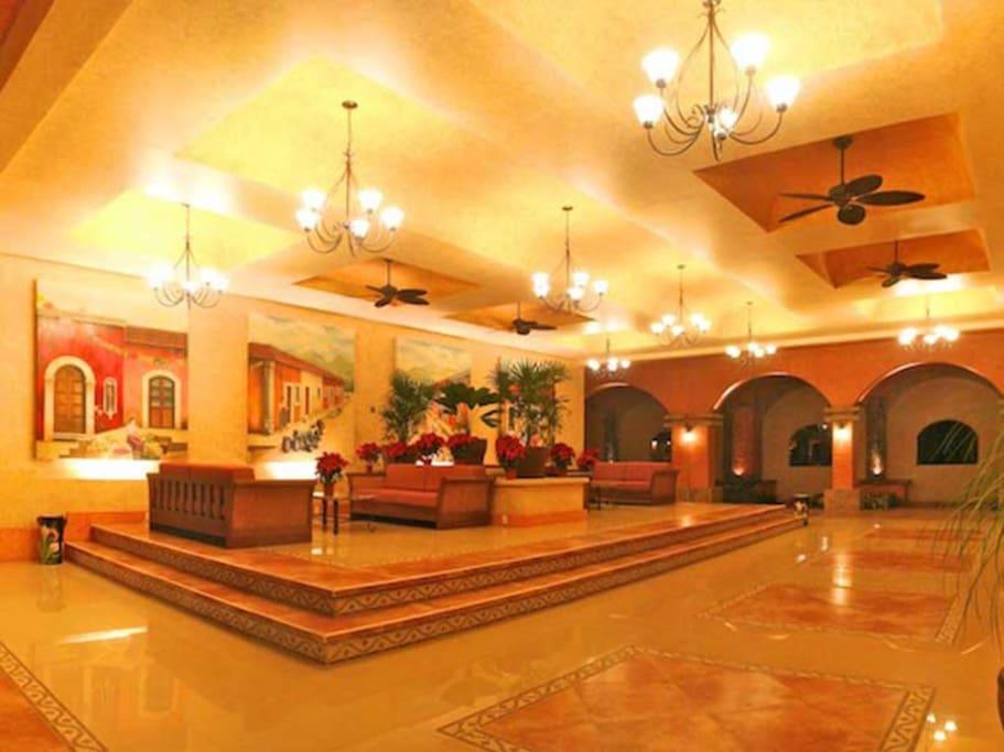 Lobby del complejo
