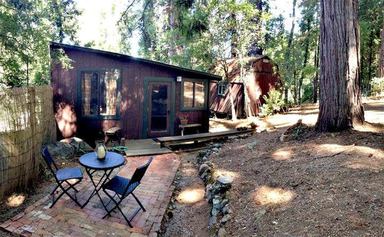Country Lane Cabin Near Town - Nevada City - Houten huisje